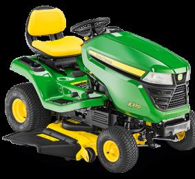 Traktor John Deere X370 z agregatem 97 cm + Olej + Dostawa Gratis!!!