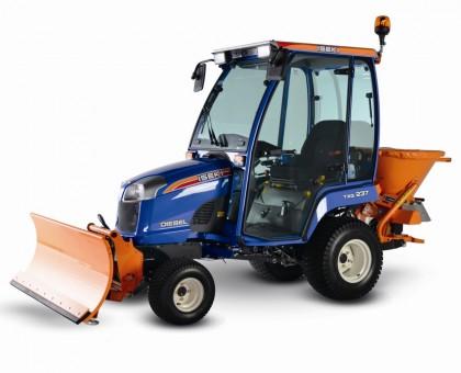 ISEKI TXG 237 Traktor Komunalny – zestaw zimowy