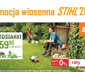 Promocja wiosenna STIHL 2017