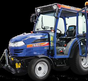 ISEKI TH 4295 AHLK – Ciągnik komunalny