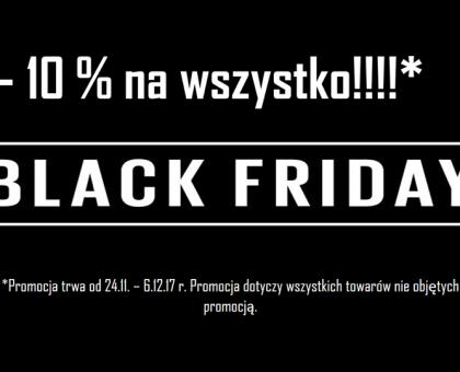 Wyprzedaż Black Friday 2017!!!