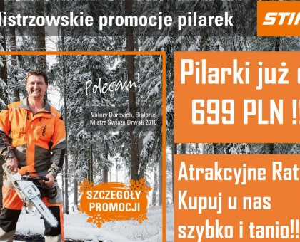 Promocja zimowa STIHL 2018!!!