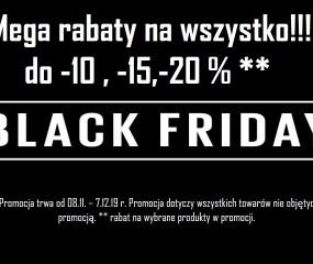 Wyprzedaż Black Friday WEEK 2019
