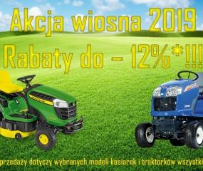 Akcja rabatowa Wiosna 2019!!!