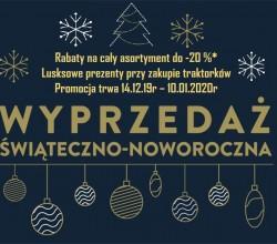 Promocja Świąteczno-Noworoczna 2019/2020