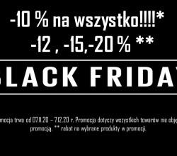 Wyprzedaż Black Friday Week 2020